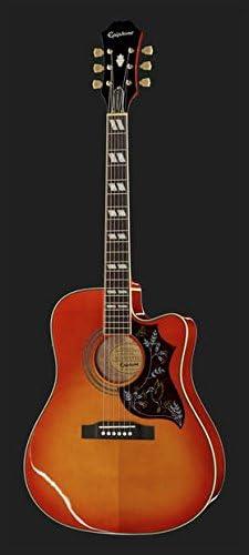 Guitarra Acústica Amplificada Epiphone Hummingbird Performer Pro ...
