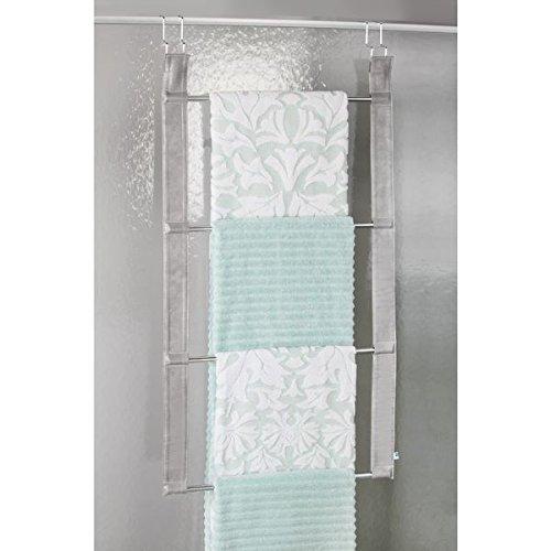 Mdesign Over The Door Towel Holder Rack For Bathroom 4