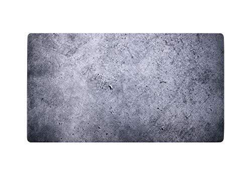 Imagen impresa superficie antideslizante multiusos computadora almohadilla de fondo de fotos 31,5 x 17 pulgadas, Concreto