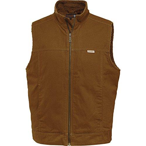 Wolverine Men's Porter Sherpa Lined Vest, Chestnut, X-Large by Wolverine