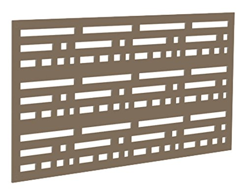 (YardSmart 73004798 Decorative Screen Panel 2X4-Morse, Saddle)