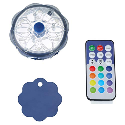 Waterproof Magnetic LED Color Changing Pool Wall Light with Remote Control, for Above Ground Pools ()