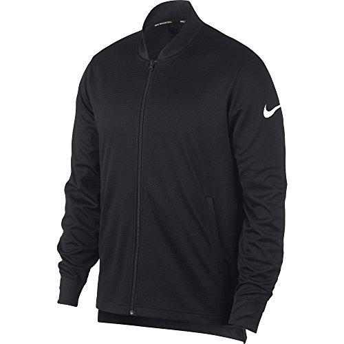 Nike Men's Dry Basketball Jacket Black/White Size ()