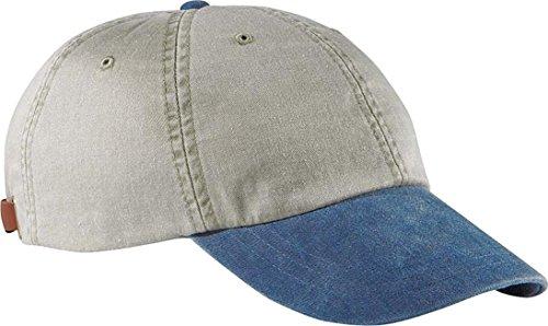 Adams Optimum Stone Crown Pigment Dyed Twill Cap