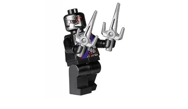 Lego 70728 Nindroid Drone Minifigure w Double Sais Battle for ...