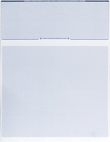 Check O Matic Computer Check Paper Pack Of 100 Blank
