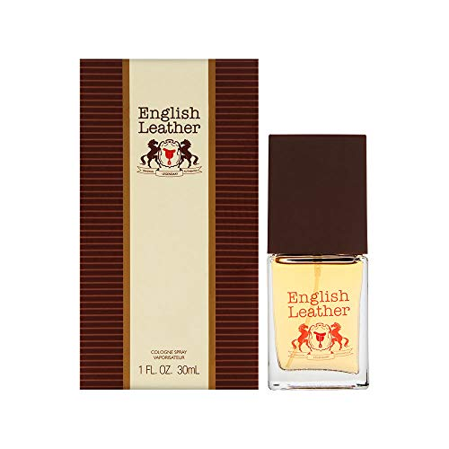 Dana English Leather for Men Cologne Spray, 1.0 Ounce