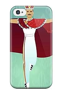 Hot Fashion Design Case Cover For Iphone 5C Protective Case (queen) 3871878K26805185 WANGJING JINDA