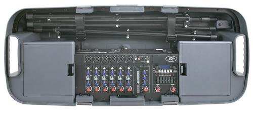 Peavey Escort 3000 - 300W 7-Channel, Two-Way Speaker System with 10-Inch Woofer