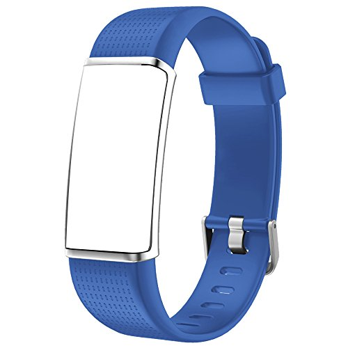 YAMAY Replacement Bands for Fitness Tracker with Color Screen (SW352) (Blue)