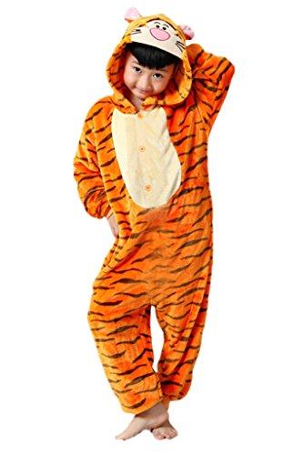 [Zerlar Children's Pajamas Animal Costume Onesie Kids Sleeping Wear Cosplay] (Easy Cosplay Costume For Girls)