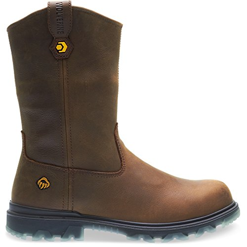 Wolverine Men's I-90 Waterproof Composite-Toe Wellington Construction Boot, Sudan Brown, 13 Extra Wide US