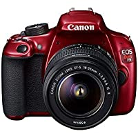 Canon EOS Rebel T5 18.0MP Digital SLR Camera Kit with EF-S 18-55mm IS II Lens - Red (Certified Refurbished)