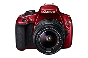 Canon EOS Rebel T5 Digital SLR Camera Kit with EF-S 18-55mm IS II Lens - RED (Certified Refurbished)
