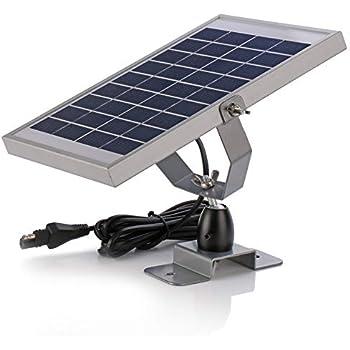 Amazon.com : ZEALLIFE 6V 1w Solar Panel to Recharge Deer ...