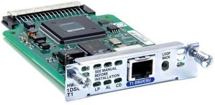 Cisco 1-Port T1//Fractional T1 DSU//CSU WAN Interface Card