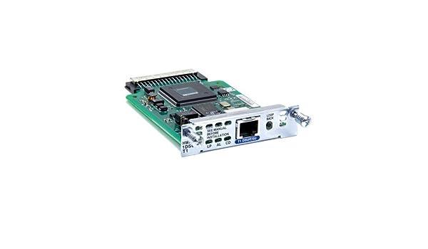 Amazon com: CISCO HWIC-1DSU-T1= / 1-Port T1/Fractional T1