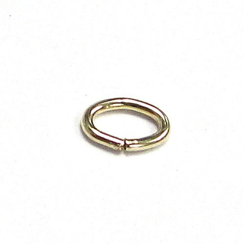 Dreambell 10 pcs 14K Gold Filled Oval Open Jump Rings Wire 4.5mm X 3mm / Findings/Yellow Gold ()