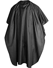 Hairdressing Gown Barbers Cape, Water Resistant Hair Cutting Cape, Non-Slip Neck Wrap for Hairdye, Hairdressing Salon Apron, Hairdressers Gown for Hair Styling, Cuts and Colours