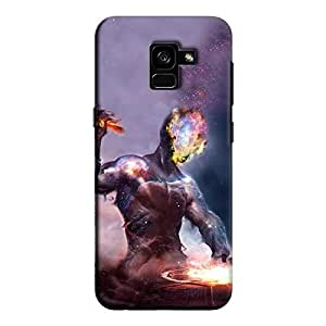 Cover It Up - Shaper Of Worlds Galaxy A8 2018 Hard Case