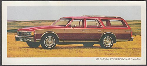 1978 Chevrolet Caprice Classic Wagon sell - Wagons Chevrolet 1978