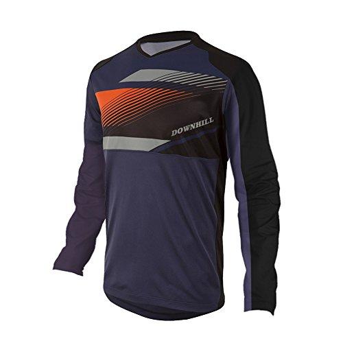 Uglyfrog Downhill Jersey Winter Thermal Fleece Men's Cycling Jersey Long Sleeves Bike Shirt Cycling Jacket Riding Long Sleeve -