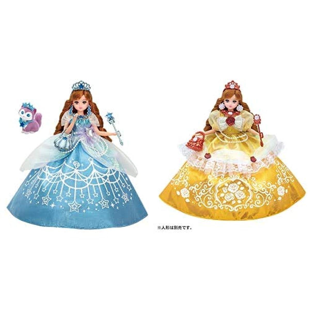 [해외] 리카짱 큐빅스톤 꿈꾸는 공주님 스타 라이트세이라제대로 리카짱 드레스 꿈꾸는 공주님 엘레강트(elegant) 로즈 드레스의 세트