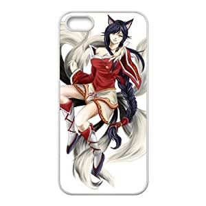 iphone5 5s phone case White League of Legends Ahri SSS6581245