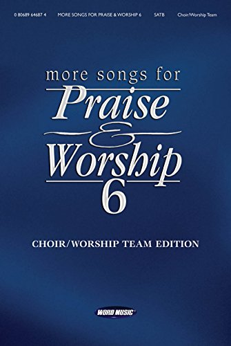 (Word Music More Songs for Praise & Worship - Volume 6 for Piano/Vocal/Guitar )