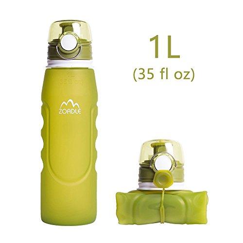 1 Liter Collapsible Water Bag - 3