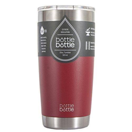 Bottlebottle Insulated Tumbler Stainless Bordeaux product image