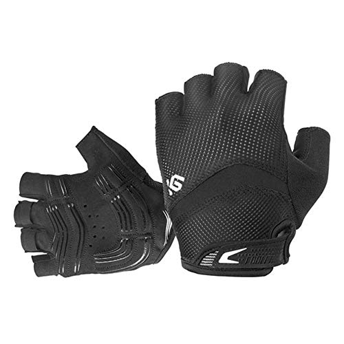 Handball Team Dimensions (eroute66 Bike Gloves Bicycle Gloves Cycling Gloves Mountain Biking Gloves with Anti-Slip Shock-Absorbing Pad Breathable Half Finger Outdoor Sports Gloves Black L)