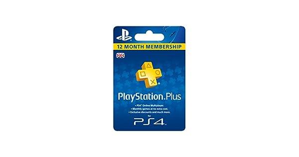 Playstation Plus - 365 Day Subscription [Importación Inglesa ...