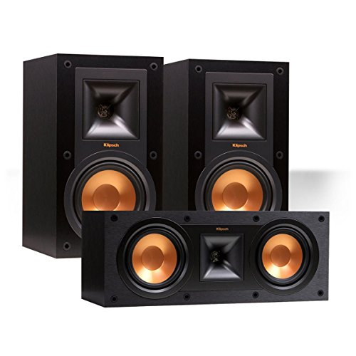 Klipsch R-15M Reference Monitor Speaker Pair w/ R-25C Center
