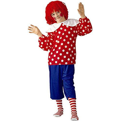 Child's Rag Doll Boy Halloween Costume (Medium 8-10)]()