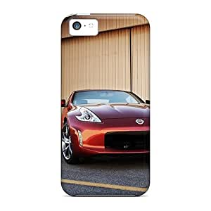Iphone 5c Case Cover - Slim Fit Tpu Protector Shock Absorbent Case (nissan 370z Front)