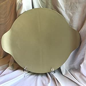 The Pampered Chef Large Round Stone with Handles on the Sides