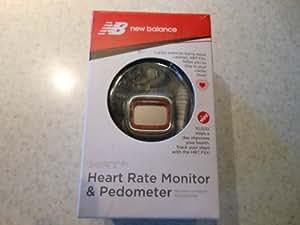 New Balance Heart Rate Monitor & Pedometer