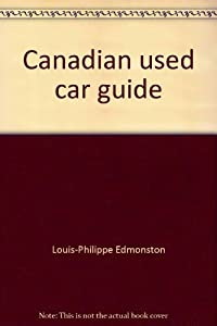 Unknown Binding Canadian used car guide Book