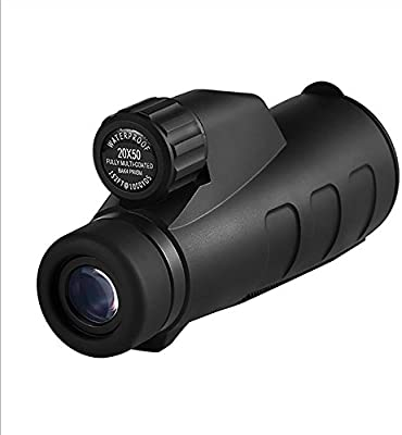 YUN Telescope@ 15X50 High Power Prism Monocular y Quick Smartphone ...