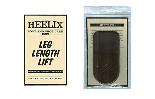 3 Pack Leg Length Discrepancy Lift (LL7-Women's 1/4