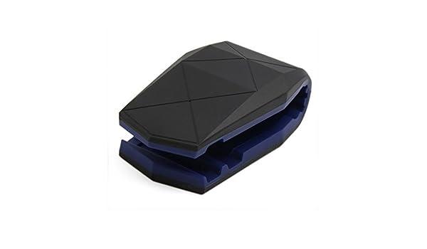 Amazon.com: eDealMax Universal Azul Negro cocodrilo Boca del hipopótamo la Forma del coche del teléfono Clips GPS Holder: Electronics