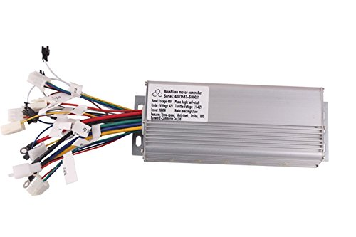 1000W 48V Three-speed Brushless Motor Controller for E-bike & Scooter (3 Phase 60°or 120°Brushless Motor) (Scooter Brushless Motor)