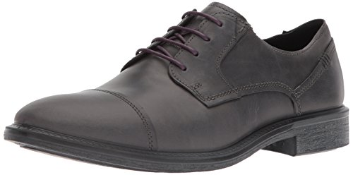 Ecco Mens Knoxville Cap Teen Oxford Moonless