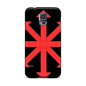 Samsung Galaxy S5 WwP14693ObHP Allow Personal Design Attractive Red Hot Chili Peppers Series Bumper Phone Case -LauraAdamicska
