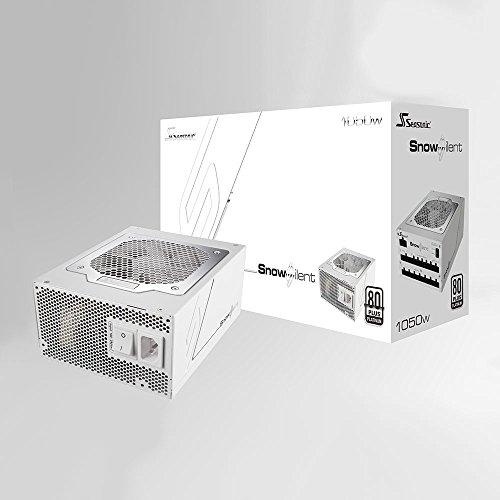 Seasonic 1050W ATX12V/EPS12V 80 PLUS Platinum Certified Full Modular Active PFC SNOW SILENT-1050 by Seasonic (Image #4)