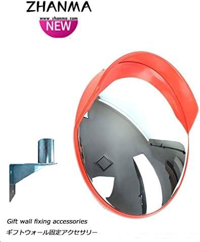 カーブミラー ラウンド屋外凸面鏡取付アクセサリと広角道路交通ミラー防水球面鏡、送信取付金具 RGJ4-11 (Size : 300mm)