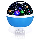 Best Top Popular Boys Toys Age 2-8, Hove Star Rotating Night Light for Kids Toddlers Christmas Birthday Gifts Presents for Boys Age 2-8 Autism Party Novelty Popular Toys for Boys Kids Blue FDUSNL01