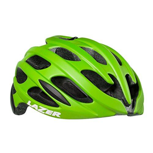 Lazer Blade MIPS Cycling Helmet (FLASH GREEN/MATTE BLK - (Green Blade Helmet)
