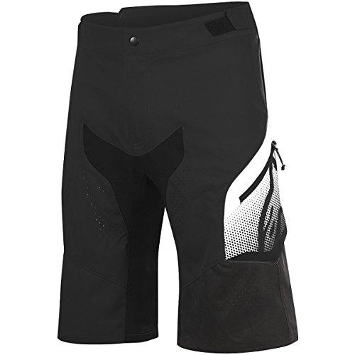 Alpinestars Men's Predator Shorts, Black/White, Size 34